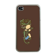 Charlie Apple iPhone 4 Case (Clear)