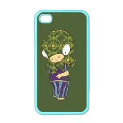Octavio Apple Iphone 4 Case (color)