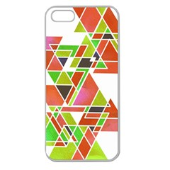 TRIANGLEZ Apple Seamless iPhone 5 Case (Clear)