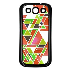 Trianglez Samsung Galaxy S3 Back Case (black)