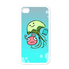 Ocean Party Apple iPhone 4 Case (White)