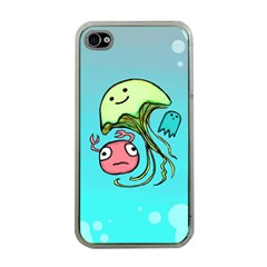 Ocean Party Apple iPhone 4 Case (Clear)