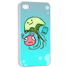 Ocean Party Apple iPhone 4/4s Seamless Case (White)