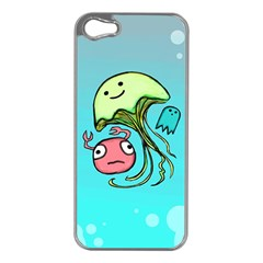 Ocean Party Apple Iphone 5 Case (silver)