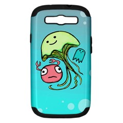 Ocean Party Samsung Galaxy S Iii Hardshell Case (pc+silicone)