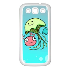 Ocean Party Samsung Galaxy S3 Back Case (white)