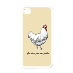 It s A Rooster  Apple Iphone 4 Case (white)
