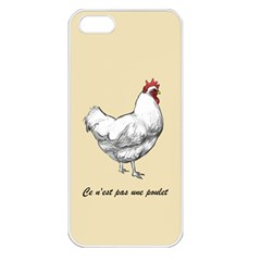 It s a rooster. Apple iPhone 5 Seamless Case (White)