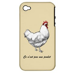 It s a rooster. Apple iPhone 4/4S Hardshell Case (PC+Silicone)