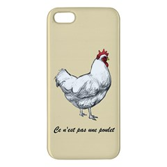 It s a rooster. iPhone 5S Premium Hardshell Case