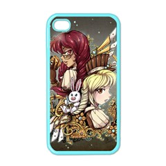 Steampunk Sisters Apple iPhone 4 Case (Color)