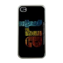 Art Apple iPhone 4 Case (Clear)