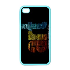 Art Apple Iphone 4 Case (color)
