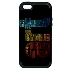 Art Apple iPhone 5 Hardshell Case (PC+Silicone)