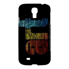 Art Samsung Galaxy S4 I9500/I9505 Hardshell Case
