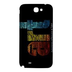Art Samsung Note 2 N7100 Hardshell Back Case