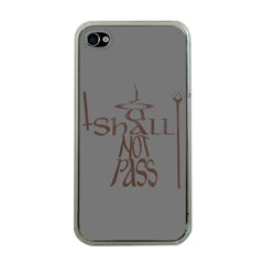 You shall not pass Apple iPhone 4 Case (Clear)