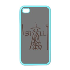 You shall not pass Apple iPhone 4 Case (Color)