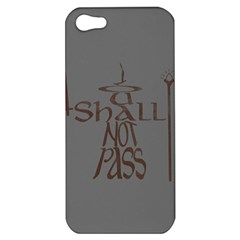 You shall not pass Apple iPhone 5 Hardshell Case