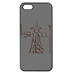 You shall not pass Apple iPhone 5 Seamless Case (Black)