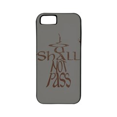 You shall not pass Apple iPhone 5 Classic Hardshell Case (PC+Silicone)