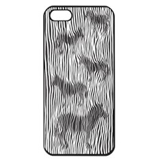 Where s the zebra? Apple iPhone 5 Seamless Case (Black)