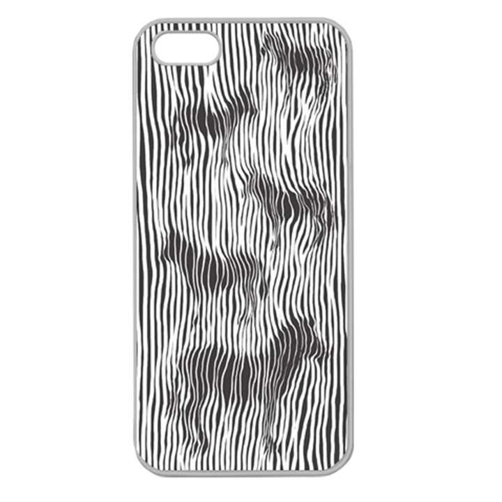 Where s the zebra? Apple Seamless iPhone 5 Case (Clear)