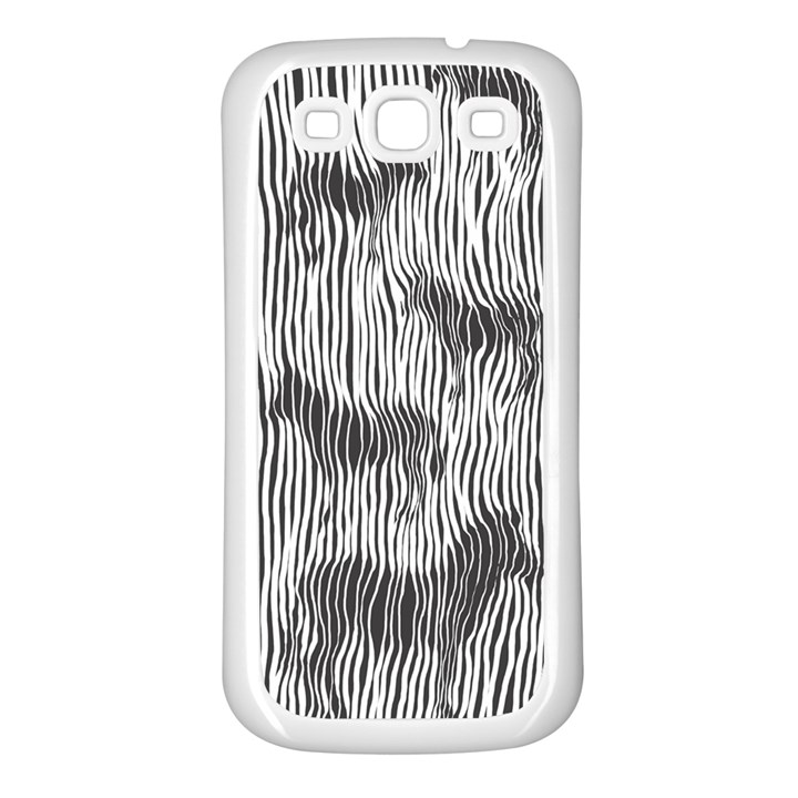 Where s the zebra? Samsung Galaxy S3 Back Case (White)