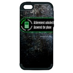 Achievement Unlocked Apple iPhone 5 Hardshell Case (PC+Silicone)