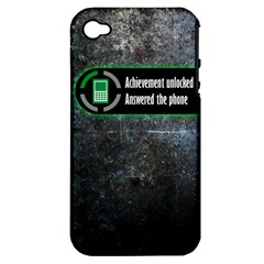 Achievement Unlocked Apple iPhone 4/4S Hardshell Case (PC+Silicone)