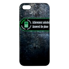 Achievement Unlocked iPhone 5 Premium Hardshell Case