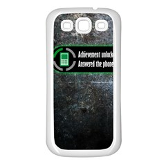 Achievement Unlocked Samsung Galaxy S3 Back Case (white)