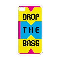 Drop The Bass Apple Iphone 4 Case (white)