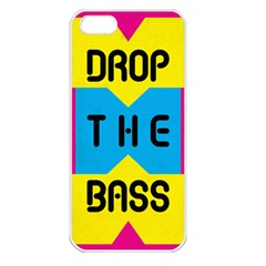 Drop The Bass Apple Iphone 5 Seamless Case (white)