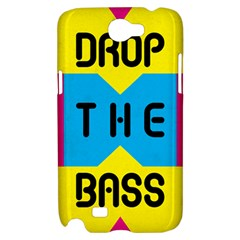 DROP THE BASS Samsung Galaxy Note 2 Hardshell Case
