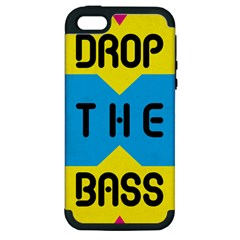 DROP THE BASS Apple iPhone 5 Hardshell Case (PC+Silicone)