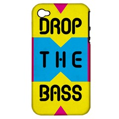 DROP THE BASS Apple iPhone 4/4S Hardshell Case (PC+Silicone)