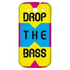 DROP THE BASS Samsung Galaxy S3 S III Classic Hardshell Back Case