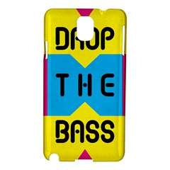 Drop The Bass Samsung Galaxy Note 3 N9005 Hardshell Case