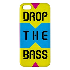 DROP THE BASS iPhone 5S Premium Hardshell Case