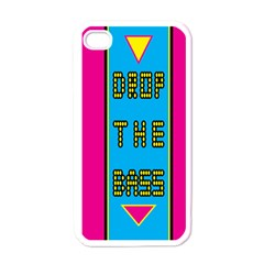 Bass Dropping Apple iPhone 4 Case (White)