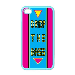 Bass Dropping Apple iPhone 4 Case (Color)