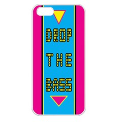 Bass Dropping Apple iPhone 5 Seamless Case (White)