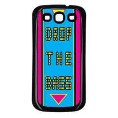 Bass Dropping Samsung Galaxy S3 Back Case (Black)