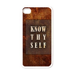 Know Thyself Apple iPhone 4 Case (White)
