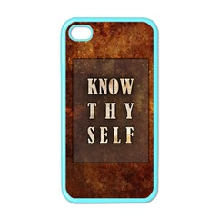 Know Thyself Apple Iphone 4 Case (color)