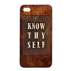 Know Thyself Apple Iphone 4/4s Seamless Case (black)