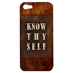 Know Thyself Apple iPhone 5 Hardshell Case
