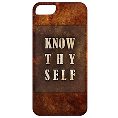 Know Thyself Apple iPhone 5 Classic Hardshell Case