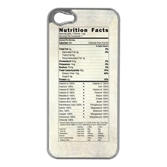 Phone Nutrition Apple Iphone 5 Case (silver)